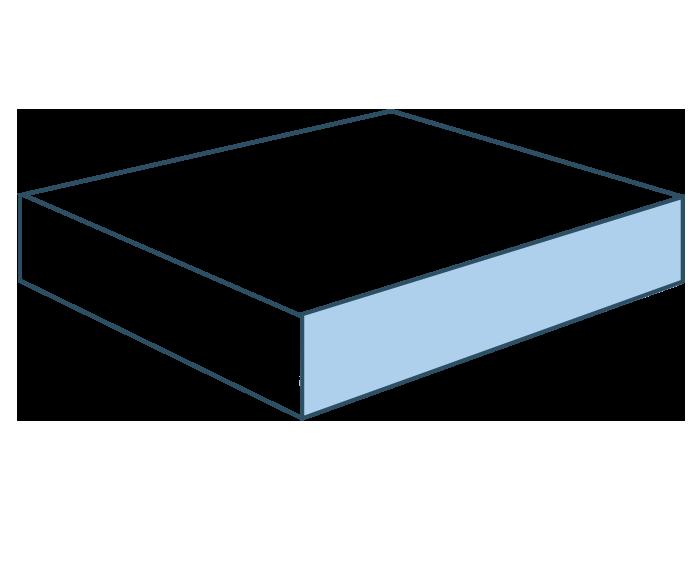 Espuma pieza recta